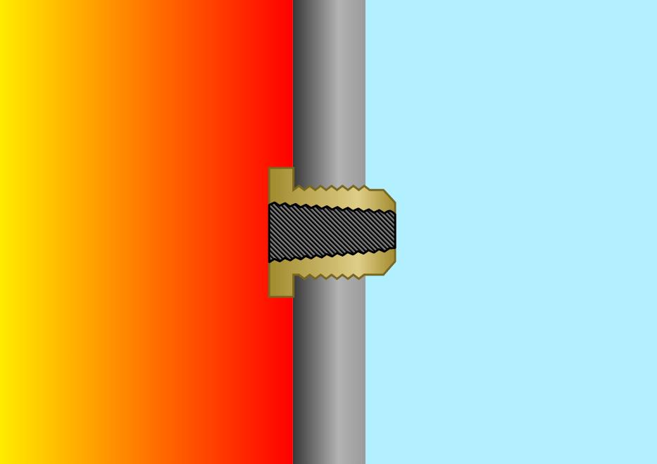 Fire Side Fusible Plug