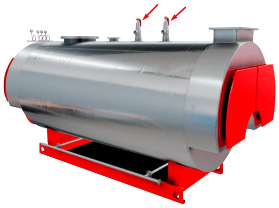 Firetube Boiler Safety Valves