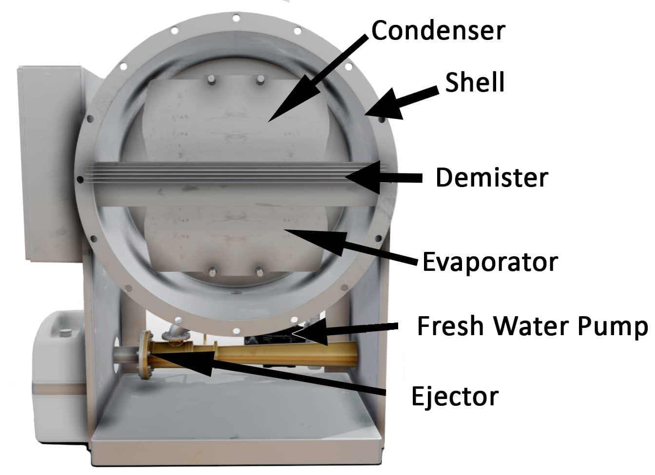 Fresh Water Generator Components