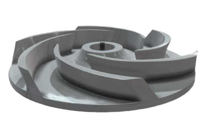 Semi-Open Type Impeller