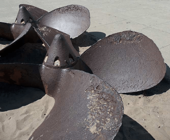 Impeller Damaged by Cavitation