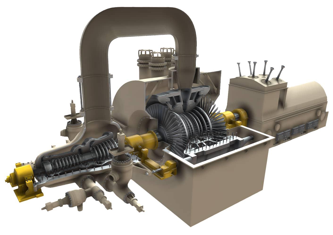 Steam Turbine Siemens SST-5000 Explained - saVRee