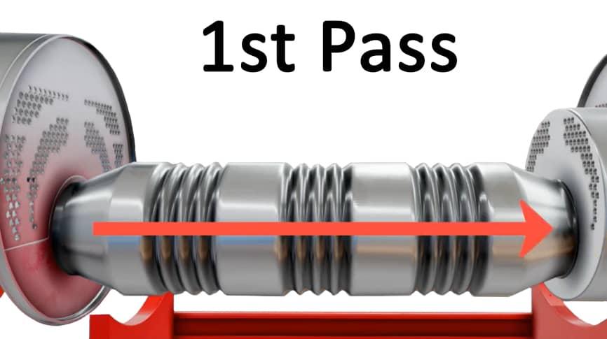 Boiler 1st Pass
