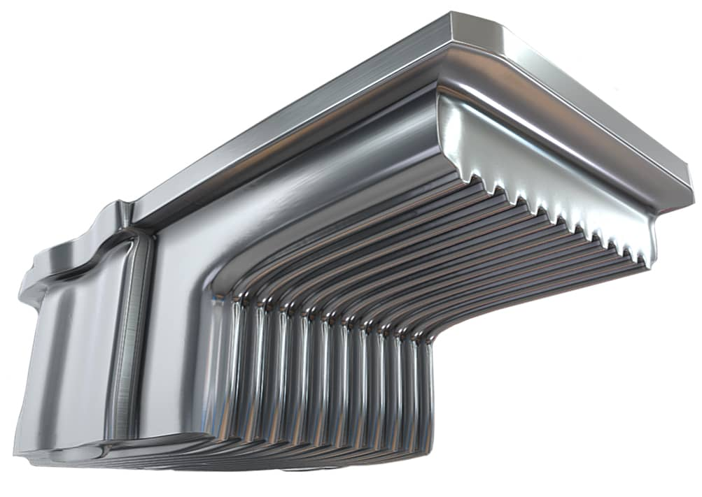 Oil Sump Cooling Fins
